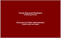 Faclair Rianachd Phoblaich